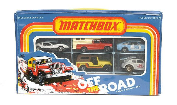 1004: Matchbox Rolla-matics Set complete with 5 models