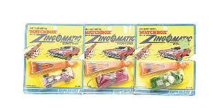 "Matchbox a group of 3 ""Zingomatic"""