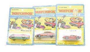 Matchbox a group of 3