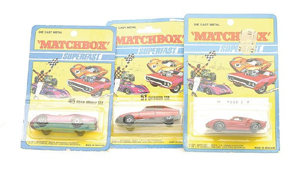 1007: Matchbox a group of 3