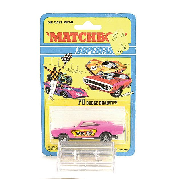 "1010: Matchbox No.70 Dodge Dragster ""Wild Cat"""