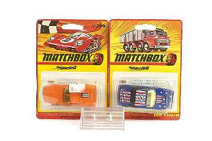Matchbox a pair of Japanese Issues