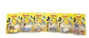 "Matchbox a group of 6 ""Walt Disney"" issues"