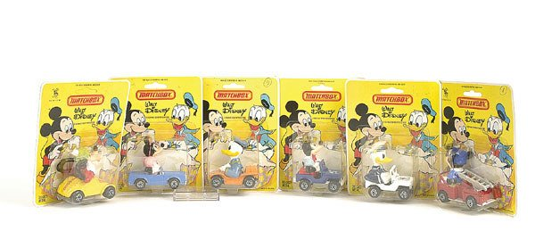"1018: Matchbox a group of 6 ""Walt Disney"" issues"