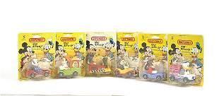 """Matchbox a group of 6 """"Walt Disney"""""""