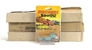 Matchbox a group of 3 trade packs