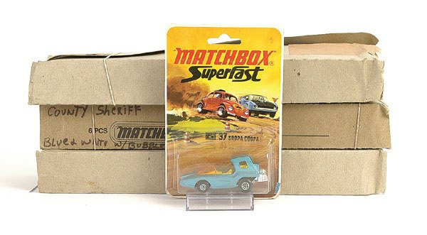 1020: Matchbox a group of 3 trade packs