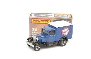 """Matchbox No.38 Ford Model A Van """"Hoover"""""""