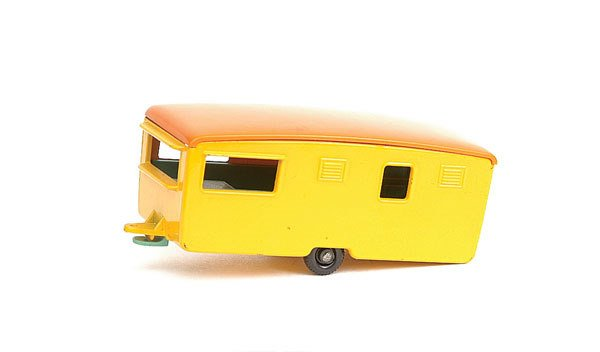 1212: Matchbox Preproduction No.57 Eccles Caravan