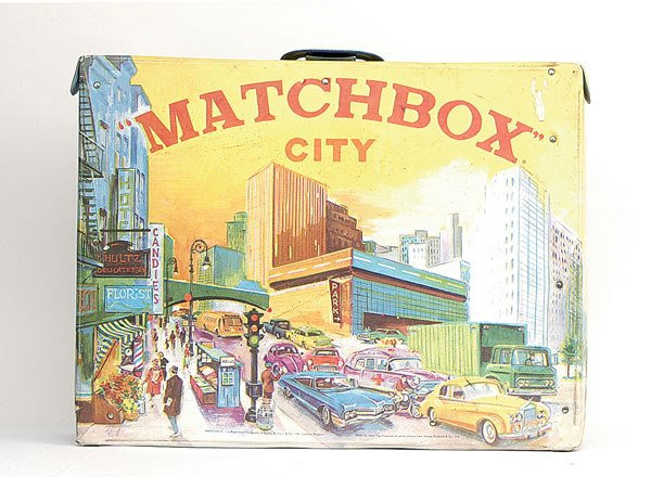 1301: Matchbox City Vinyl Carry Case fold-out Playmat