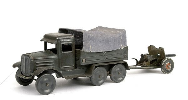 2510: Tipp & Co - a pair-Truck and Cannon