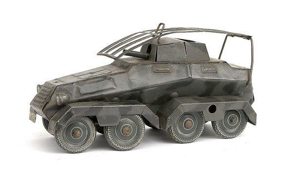 2513: Tipp & Co - a small scale 8-wheeled Armoured Car