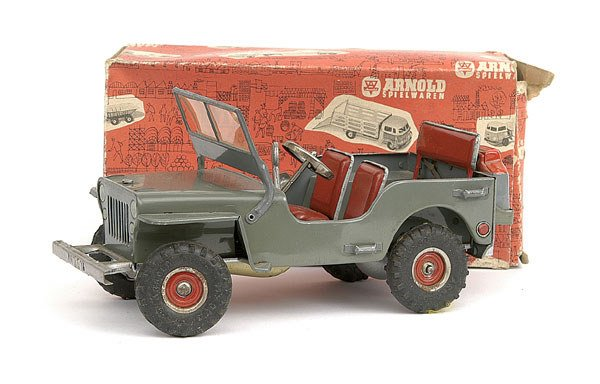 2569: Arnold Toys - Military Jeep