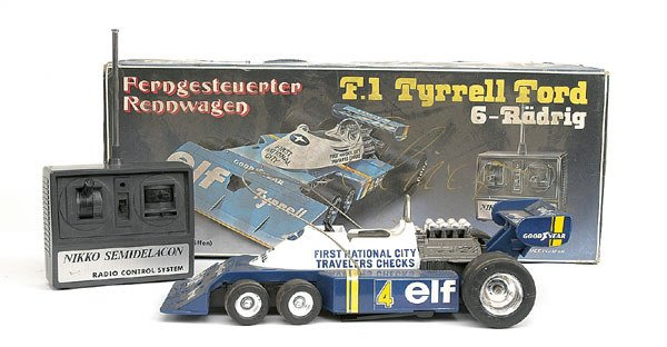 2712: Nikko Toys of Japan F.1 Tyrrell Ford Racing Car
