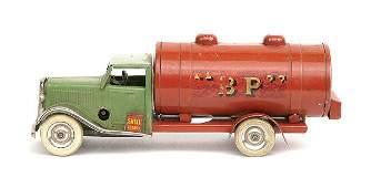3163: Triang Minic No.15M pre-war rigid Petrol Tanker