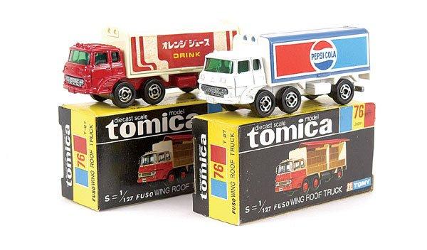 4001: Tomica 2 x No.76 Mitsubishi Fuso