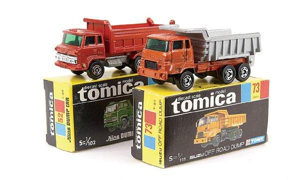 4005: Tomica No.52 Hino Dump Truck