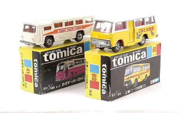4009: Tomica No.49 Fuji Semi-Decker Bus