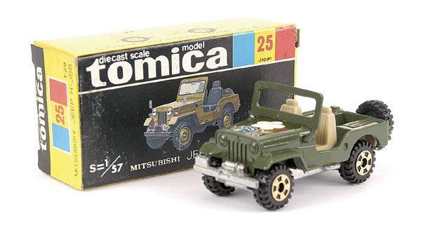 4010: Tomica No.25 Mitsubishi Jeep