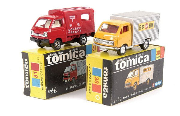 4011: Tomica No.31 Suzuki Carry Van