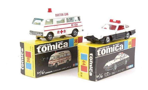 4012: Tomica No.36 Nissan Caravan Ambulance