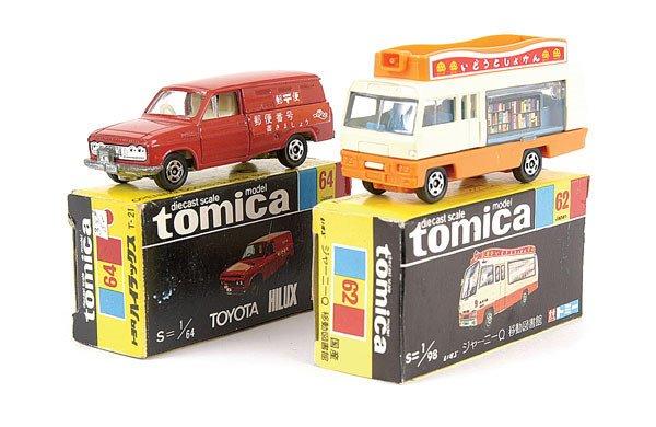 4014: Tomica No.62 Isuzu Journey Mobile Library