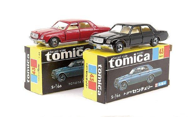 4017: Tomica 2 x No.43 Toyota Century