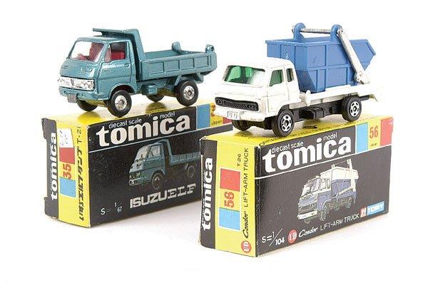 4018: Tomica No.35 Isuzu Elf Tipper
