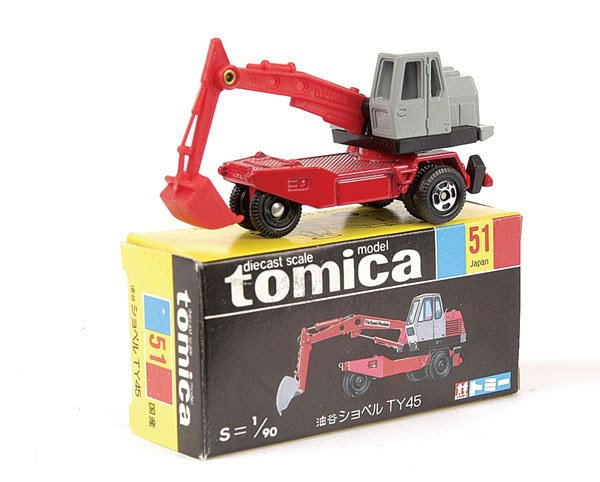 4019: Tomica No.51 Yutani TY45 Shovel