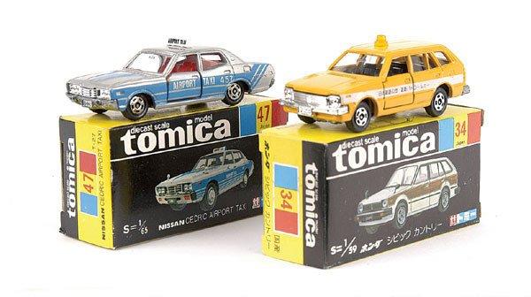 4023: Tomica No.34 Honda Civic Country Station Wagon