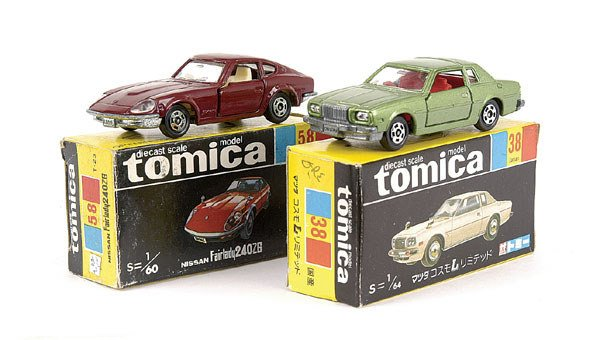 4024: Tomica No.38 Mazda Cosmo Limited