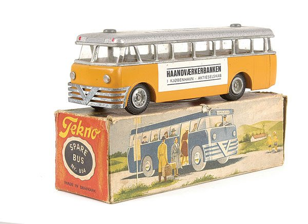 4103: Tekno No.854 Single Deck Money Bank Bus