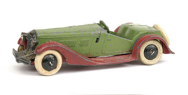 1: French Dinky No.25h 2-seater Sports Car