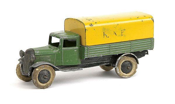 Dinky No.25b Covered Wagon