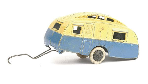 Dinky No.30g Caravan