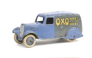 """Dinky No.28d Delivery Van """"Oxo"""""""