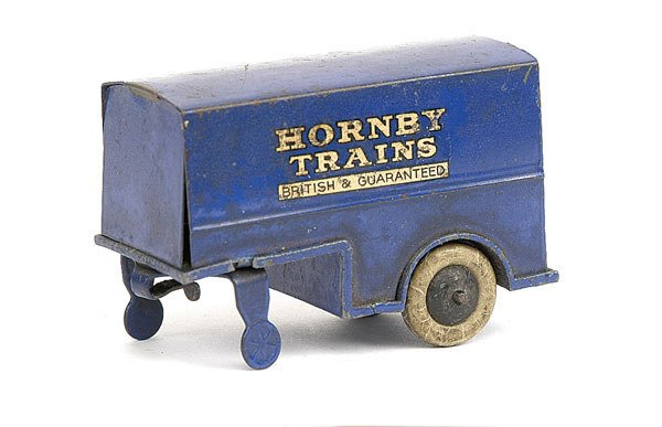 "13: Dinky No.33d Box Van Trailer ""Hornby Trains"""