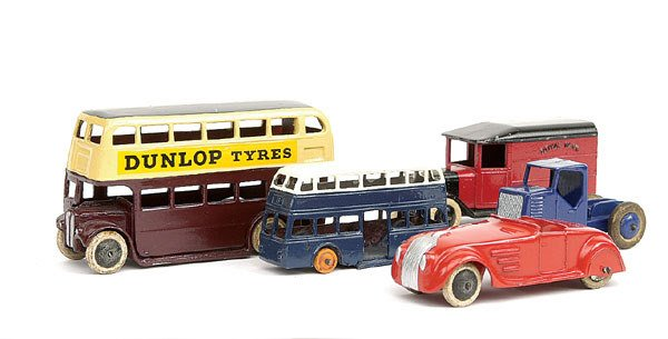 22: Dinky - A collection of pre-war Vehicles