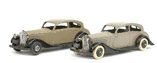 Dinky No.30b Rolls Royce - a pair