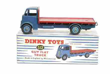 540: Dinky No.512 Guy Flat Truck