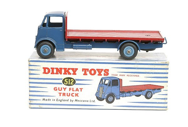 540: Dinky No.512 Guy Flat Truck