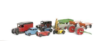 914: Dinky 2 x No.25g Trailer, & Others