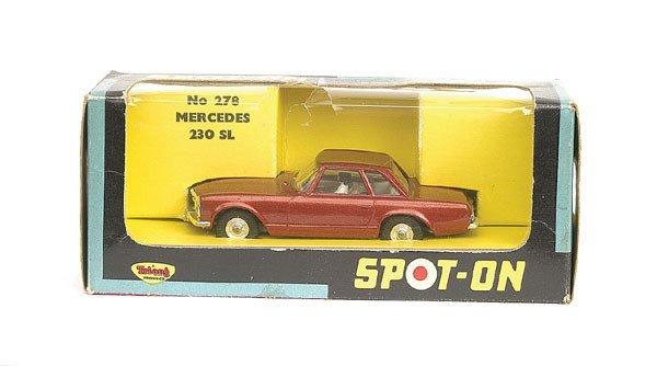 1002: Spot-On No.278 Mercedes Benz 230SL