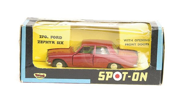 1005: Spot-On No.270 Ford Zephyr Six