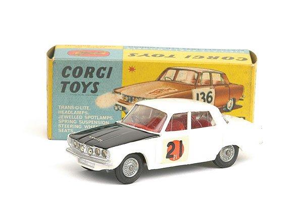 """2890: Corgi No.322 Rover 2000 """"International Rally"""""""
