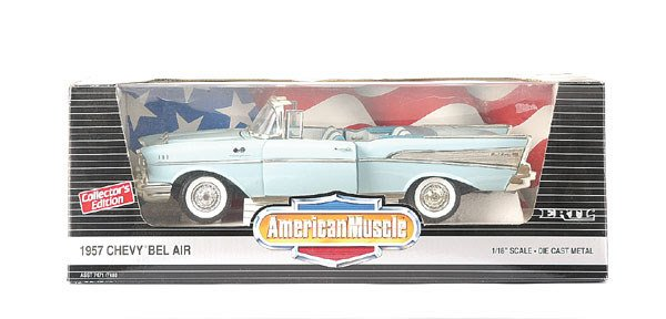 3001: Ertl No.7480 1/18th scale Chevy Bel Air