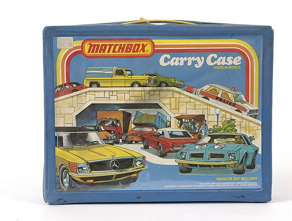 3009: Matchbox (c.1978) Carrying Case