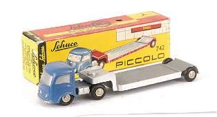 3075: Schuco Piccolo No.742 Mercedes Low Loader