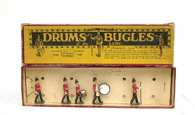 1: Britains - Set 30 - Drums & Bugles of the Line