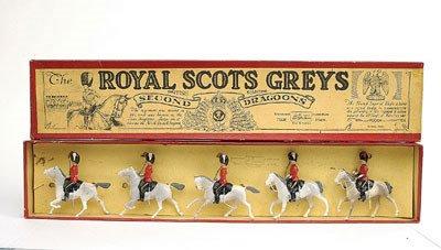 2: Britains - Set 32 - Royal Scots Greys [Post War]